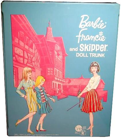 Кукла Барби Фрэнси винтажный чемоданчик