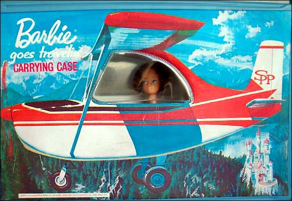 Самолет Барби переноска винтажная Barbie