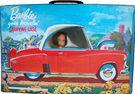 Машина Барби переноска винтажная Barbie