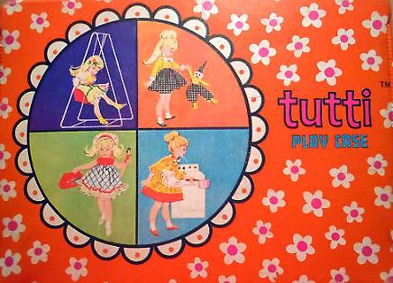 сестра куклы Барби Тутти Tutti
