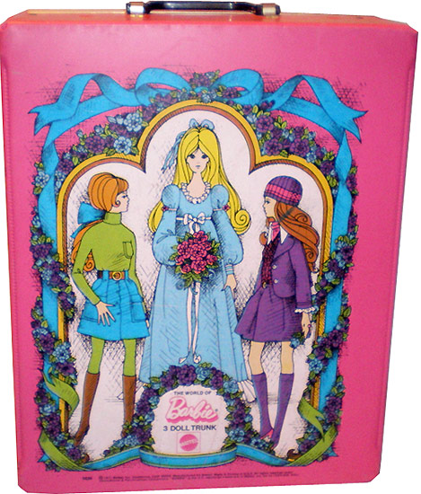 винтажный чемоданчик The World of Barbie