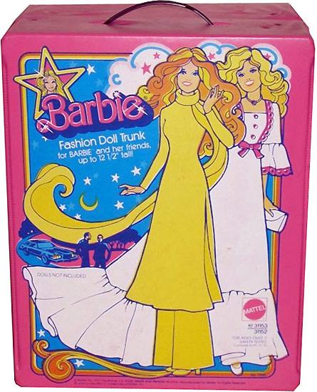 Барби суперстар 1977 чемоданчик