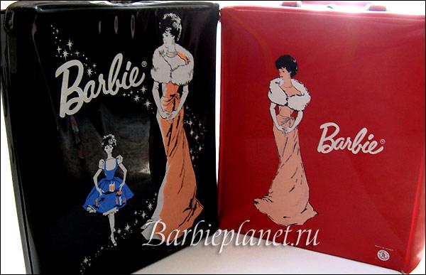 Переноски чемоданчики для куклы Барби 1960-е винтаж