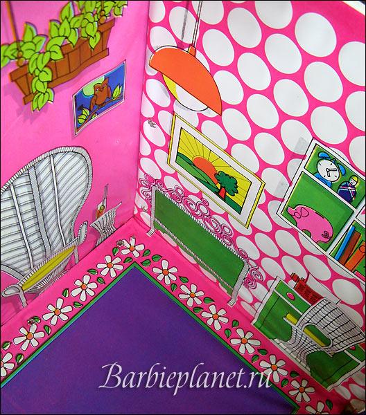 фото дом для куклы Барби Barbie винтаж