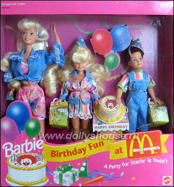 Набор Барби макдоналдс