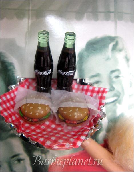 коллекционная кукла Барби Кока-Кола Coca Cola