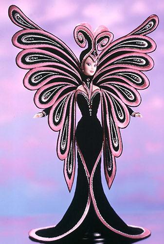 фото коллекционной Барби Боба Мэкки Bob Mackie Le Papillon