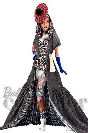 коллекционная кукла Барби Fenella Layla от Байрона Ларса Byron Lars