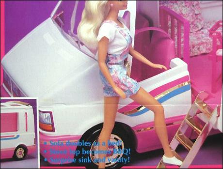 Барби сказочный машина-дом Golden Dream Motor Home Barbie