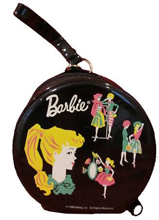 сувенир Барби виниловая переноска Hallmark
