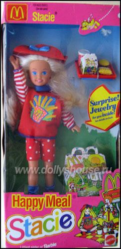 Кукла Стейси сестра Барби Хэппи Мил