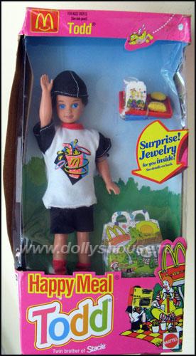 кукла Тодд Хэппи Мил брат Барби