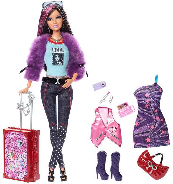 кукла Барби Модная Штучка Fashionistas Jet Divas