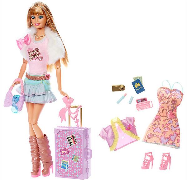 Кукла Барби Модная Штучка Fashionistas Jet Divas Sweetie