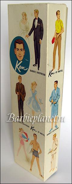 Коробка винтажный Кен №1
