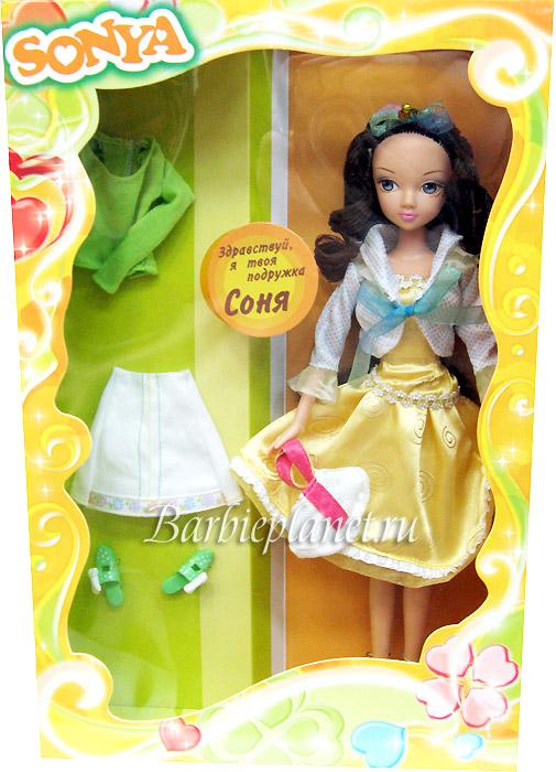 Кукла Соня серия Подружки живое фото