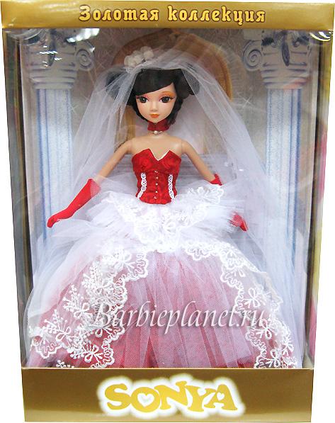 Коллекционная кукла Соня Золотая Коллекция живое фото