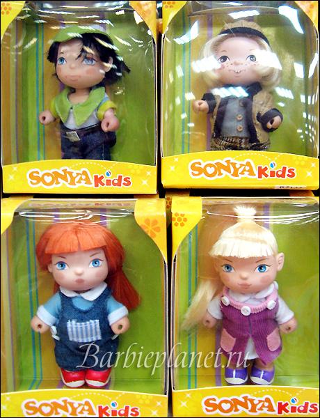 Sonya Kids малыши куклы Соня