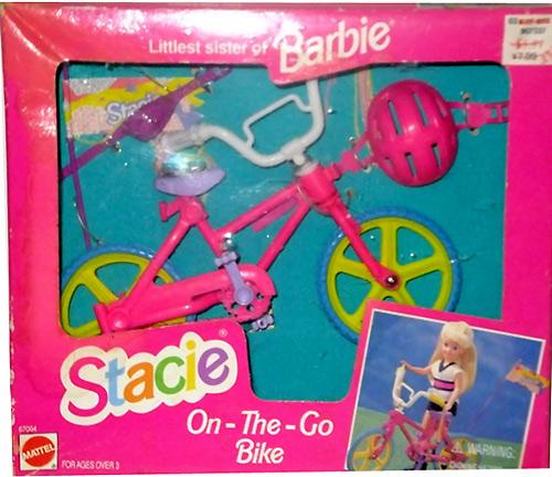 Велосипед для куклы Stacie