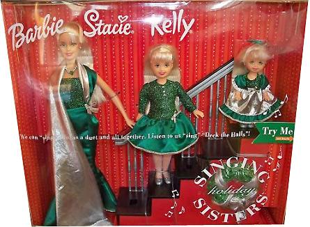 Фото набора Барби и сестры новогодний