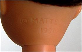 Тело куклы Stacie Mattel маркировка