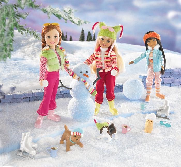 набор кукол Стейси Snow