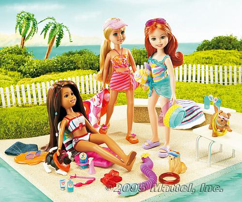 набор кукол Стейси Splash