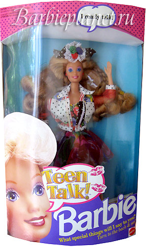 Фото куклы Барби Teen Talk Barbie молд Teen Talk