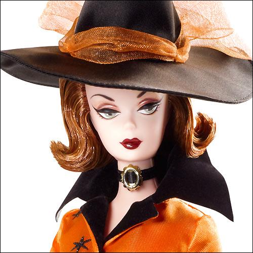 Фото Барби коллекционная кукла Хэллоуин