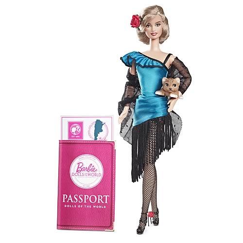 Фото куклы Барби Аргентина из коллекции Куклы Мира