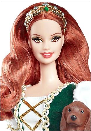 Коллекционная кукла Барби серия Куклы Мира Ирландия
