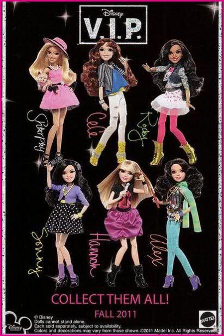 Disney V.I.P. «Большеголовые» портретные куклы