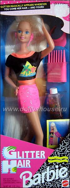Блондинка Барби с длинными волосами Glitter Hair Barbie