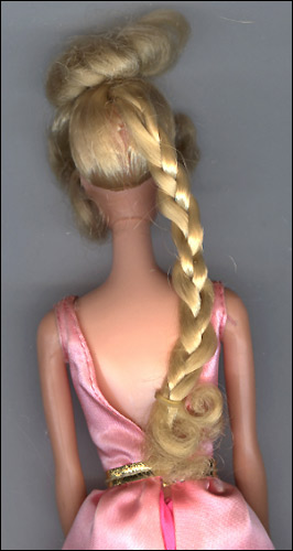 Винтажная Барби с длинными волосами фото