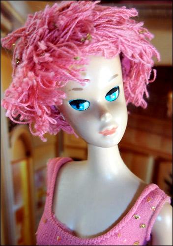 Винтажная кукла Барби с закрывающимися глазами