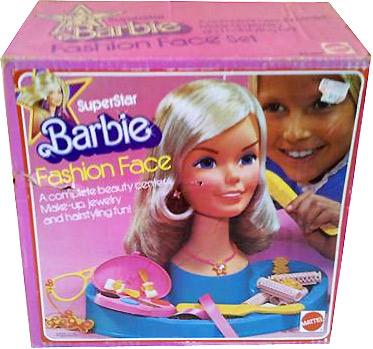 Голова куклы Superstar Barbie Fashion Face