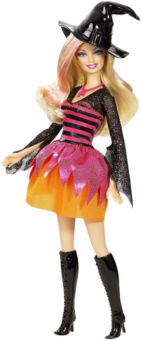 Кукла Барби ведьма Хэллоуин Halloween Party Barbie 2011
