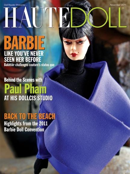 Одежда для кукол Silkstone Barbie от Бахтиера Кавракова — в журнале HAUTEDOLL!