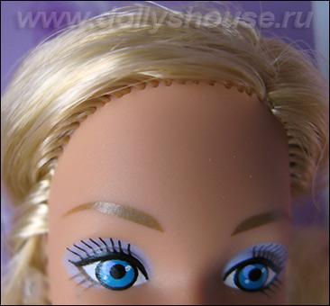 Фото коллекционной Барби прошивка волос