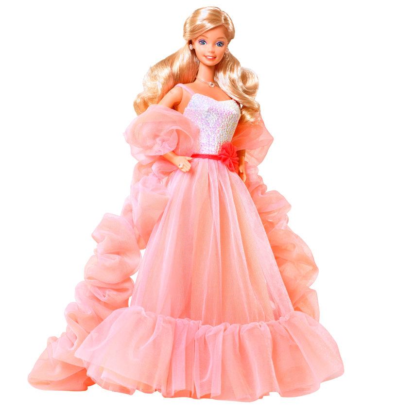Фото куклы Барби коллекционной Peaches n Cream