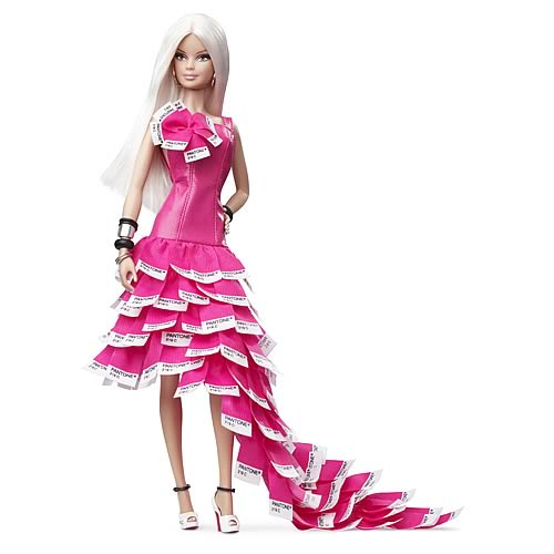 Pink in Pantone Barbie. Барби: розовый в Пантоне