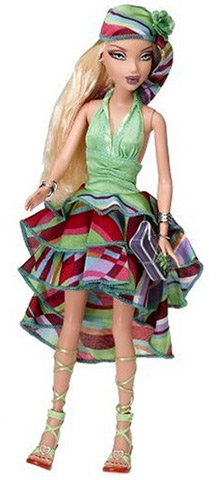 Дизайнерская кукла майсин My Scene Barbie Project Runway Ник Верреос