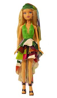 Ник Верреос платье для куклы Барби Проект Подиум