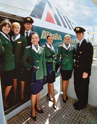 Стюардессы Alitalia