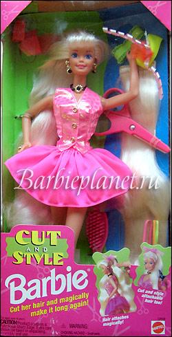 Кукла Барби 90-х Cut & Style Barbie блондинка