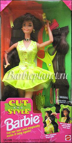 Кукла Барби 90-х Cut & Style Barbie брюнетка
