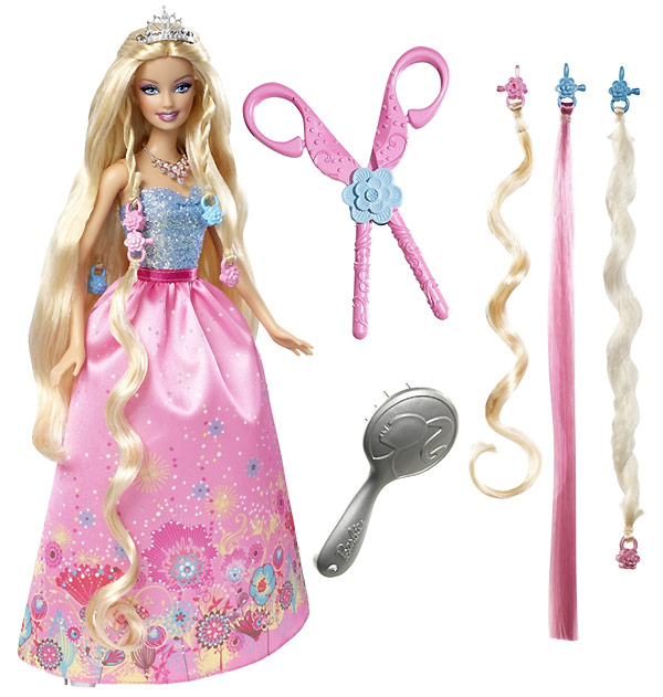 Кукла Барби Cut & Style Princess Barbie Принцесса
