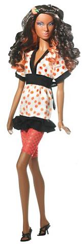 Кукла Никки с накладками для волос Top Model Hair Wear Nikki