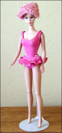Кукла Miss Barbie (1964). Парики, глаза, коленки…