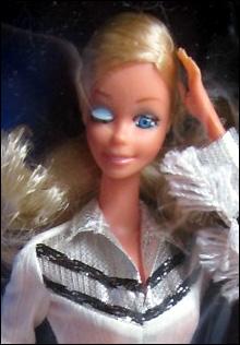 Подмигивающая Барби Western Barbie 1980